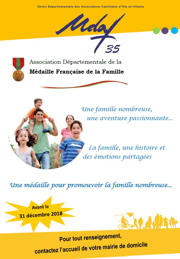 Médaille famille nombreuse