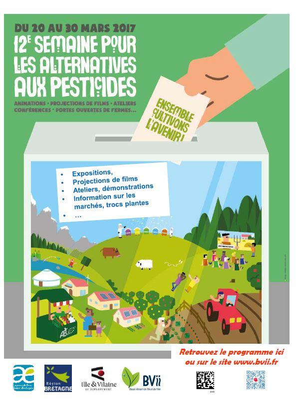 Semaine alternative pesticides du 20 au 30 mars 2017