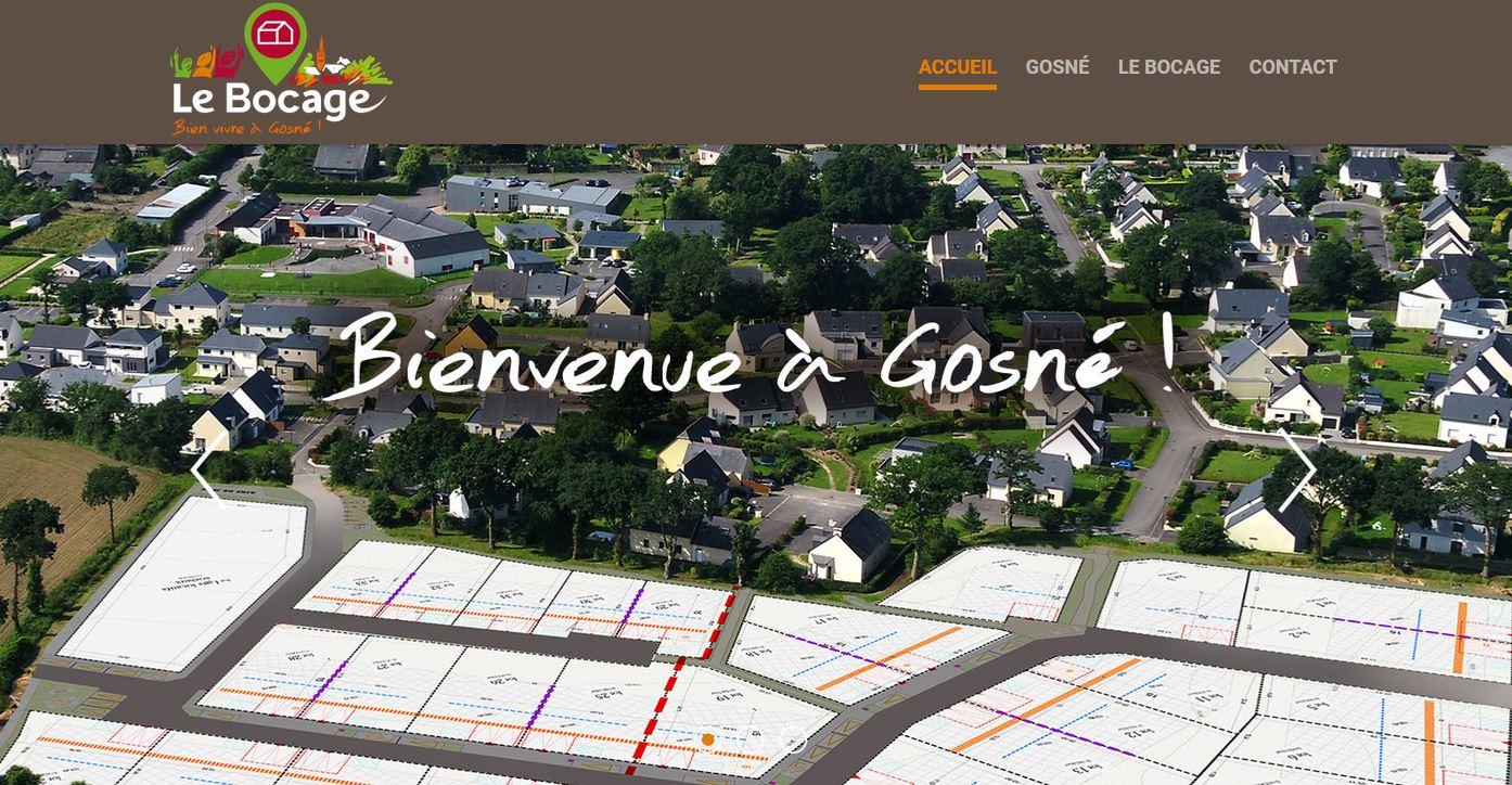 Un projet de construction... N'hésitez pas à consulter notre site lebocage.gosne.fr !  pour en savoir plus, cliquez sur l'image ! Bonne visite...