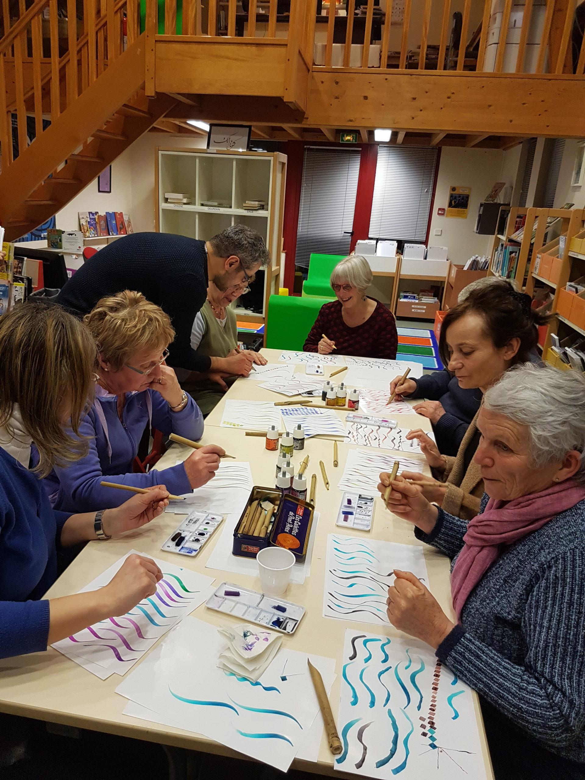 p2 atelier calligraphie